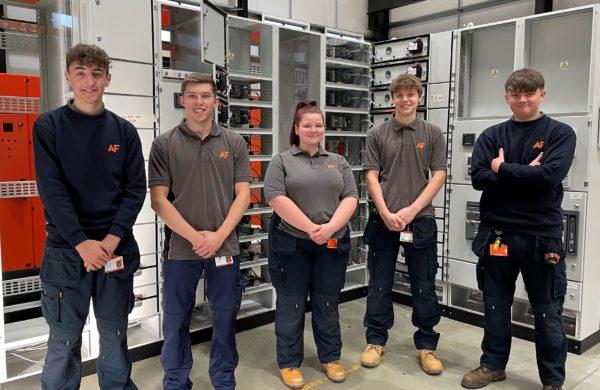 AF Switchgear Apprentices 2021
